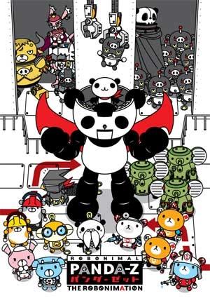 Панда-Зет: Робонимация