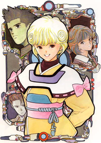 Ай - девyшка с кассеты OVA